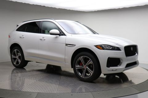 New 2018 Jaguar F-PACE S AWD With Navigation & AWD