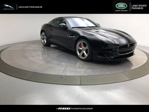 New 2018 Jaguar F-TYPE Coupe Automatic R AWD With Navigation & AWD