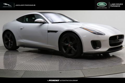 New 2018 Jaguar F-TYPE Coupe Automatic 400 Sport AWD With Navigation & AWD