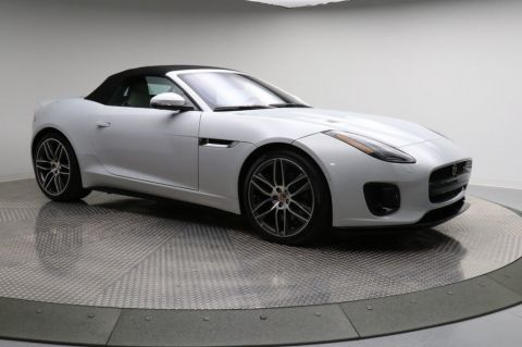 New 2018 Jaguar F-TYPE Convertible Automatic R-Dynamic AWD With Navigation & AWD