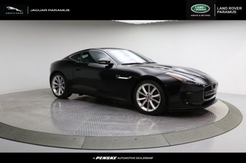 New 2018 Jaguar F-TYPE Coupe Automatic 380HP AWD With Navigation & AWD