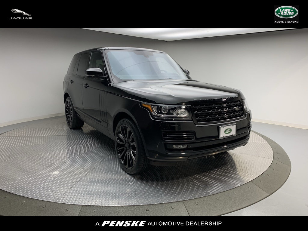 Pre-Owned 2014 Land Rover Range Rover SUPERCHARGED EBON
