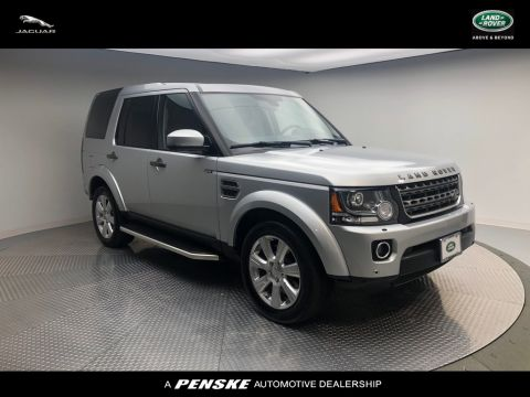 Certified Pre-Owned 2016 Land Rover LR4 4WD 4DR HSE *LTD AVAIL*