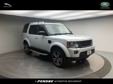 Pre-Owned 2016 Land Rover LR4 4WD 4dr HSE LUX Landmark Edition