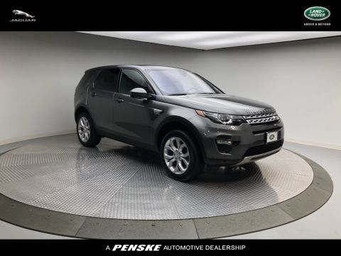 Certified Pre-Owned 2019 Land Rover Discovery Sport 4DR 4WD